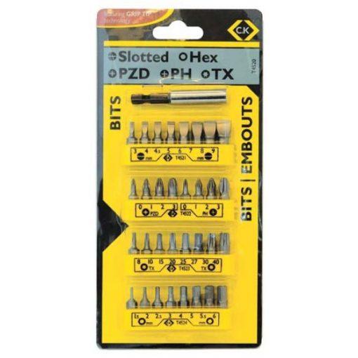 CK 4520 vegyes 25mm-es bit készlet 32+1db