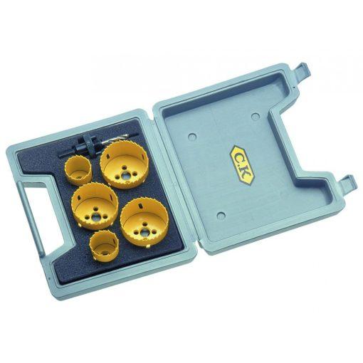 CK 3211 koronafúró készlet 38-68mm 6db