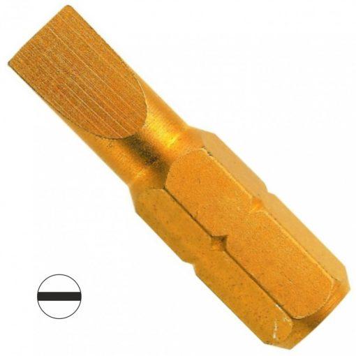 CK 4550 lapos bit TIN 1.2x6.5mm