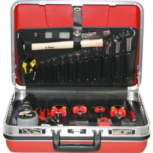 HB 5041 Budget szerszámkoffer piros
